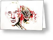 Henry Miller Portrait  Greeting Card