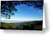 Hensley Hollow Overlook Greeting Card