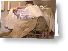 Her First Born 1888 Greeting Card