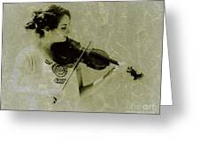 Her Music Greeting Card