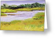 Her River Dream Greeting Card