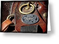 Her Saddle Greeting Card