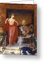 Hera In The House Of Hephaistos Greeting Card