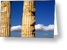 Hera Temple - Selinunte - Sicily Greeting Card