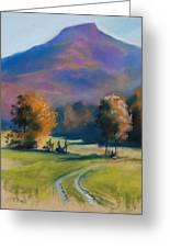 Herbstfarben Bei Aschau Greeting Card