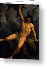 Hercules On The Pyre 1617 Greeting Card