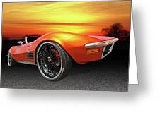 Here Comes The Sun - '72 Stingray Greeting Card