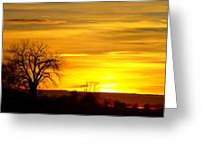 Here Comes The Sunrise Greeting Card