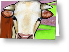 Hereford Greeting Card