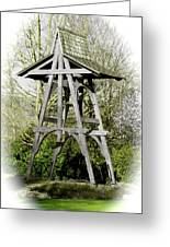 Heritage Park Bell Tower Mission Bc Canada Greeting Card