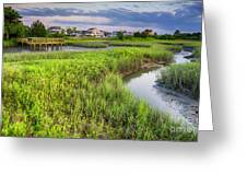 Heritage Shores Nature Preserve Greeting Card