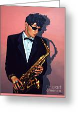 Herman Brood Greeting Card