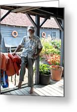 Herman Pollys Dock 8 Greeting Card