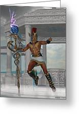 Hermes Messenger To The Gods Greeting Card
