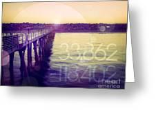 Hermosa Beach California Greeting Card
