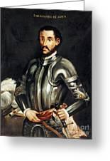 Hernando De Soto Greeting Card