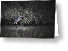 Heron 1 Artistic  Greeting Card