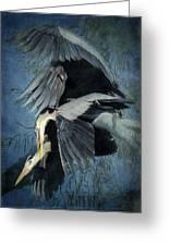 Heron Love  Greeting Card