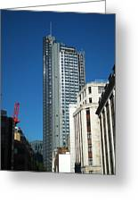 Heron Tower Greeting Card