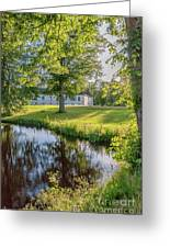 Herrevads Kloster By The Riverside Greeting Card