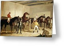 Herring, Racing, 1845 Greeting Card