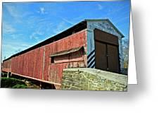 Herrs Mill Bridge Greeting Card