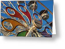 Hershey Ferris Wheel Of Color Greeting Card