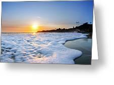 Hesler Sunset Greeting Card