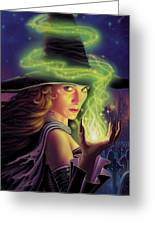Hex Of The Wicked Witch Greeting Card by Philip Straub