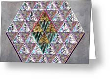 Hexagonia 3 Greeting Card