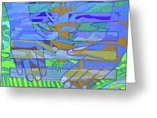 Hexagram 18-ku Greeting Card