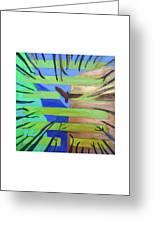Hexagram-57-xun-penetrating-wind- Greeting Card