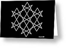 Hexagrammaton Greeting Card