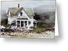 Heyl House, Minneapolis, Kansas Greeting Card