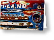 Hi-land Greeting Card