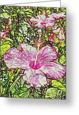 Hibiscus 101516 1a Greeting Card