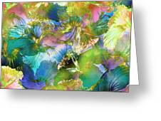 Hibiscus Trumpets Greeting Card