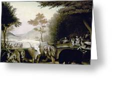 Hicks: Peaceable Kingdom Greeting Card