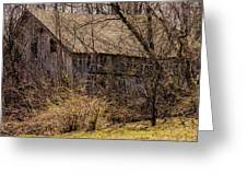 Hidden Barn Greeting Card