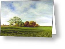 Hidden Barn Greeting Card