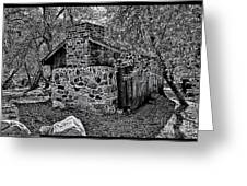 Hidden Cabin Greeting Card