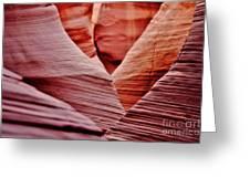 Hidden Canyon Angles. Greeting Card