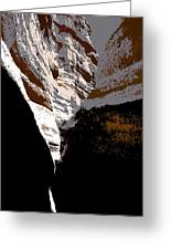 Hidden Canyon Greeting Card
