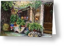 Hidden Courtyard Greeting Card
