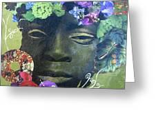 Hidden Hydrangea Greeting Card