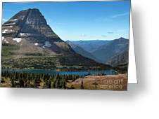 Hidden Lake - Glacier National Park Greeting Card