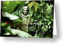 Hidden Monk Greeting Card