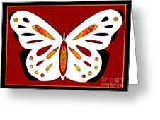 Hidden Possibilities And Abstract Butterflies By Omashte Greeting Card