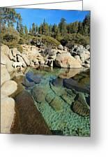 Hidden Shores Greeting Card