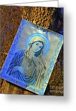 Hidden Shrine Greeting Card by Joe Jake Pratt